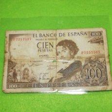 Monedas Juan Carlos I: 100 PESETAS DE 1965. USADO. PLASTIFICADO. SE UNIFICAN PEDIDOS PARA AHORRAR EN PORTES. Lote 235994110