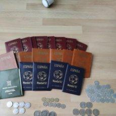 Monedas Juan Carlos I: GRAN LOTE DE MONEDAS Y CARTERAS DE JUAN CARLOS I. Lote 236110400