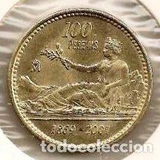 Monedas Juan Carlos I: ESPAÑA. 100 PESETAS 2001.. Lote 236248715
