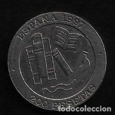 Monedas Juan Carlos I: MONEDA DE 200 PESETAS- JUAN CARLOS I - 1997. Lote 236251120