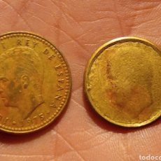 Monedas Juan Carlos I: PESETA FALLO ACUÑACIÓN.. Lote 236251560