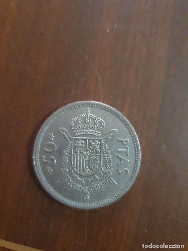 MONEDA 50 PESETAS (Numismática - España Modernas y Contemporáneas - Juan Carlos I)