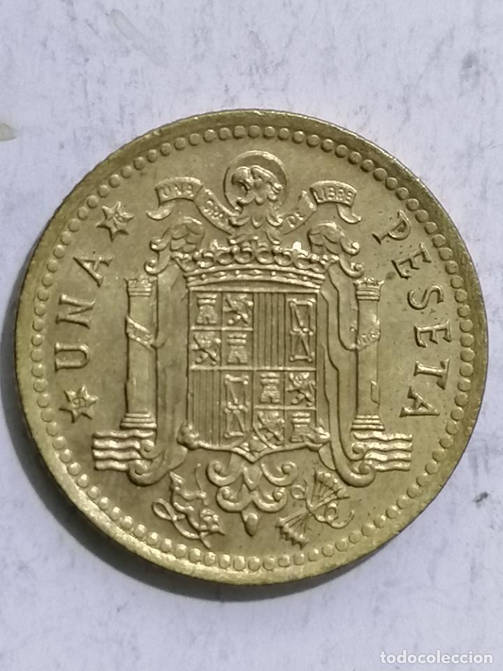 Monedas Juan Carlos I: MONEDA UNA PESETA 1975, ESTRELLA 76 - Foto 3 - 236395795