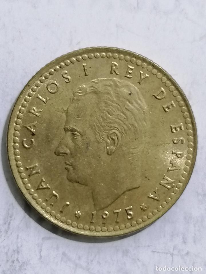 MONEDA UNA PESETA 1975, ESTRELLA 76 (Numismática - España Modernas y Contemporáneas - Juan Carlos I)