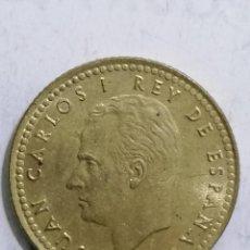 Monedas Juan Carlos I: MONEDA UNA PESETA 1975, ESTRELLA 76. Lote 236395795