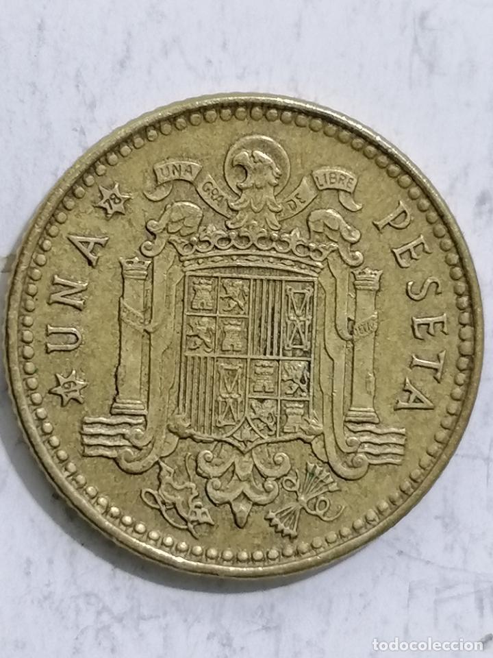 Monedas Juan Carlos I: MONEDA UNA PESETA 1975, ESTRELLA 78 - Foto 3 - 236396015