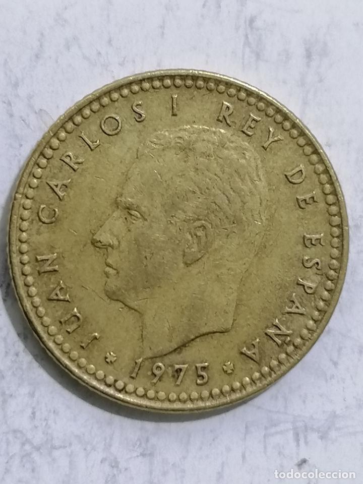 MONEDA UNA PESETA 1975, ESTRELLA 78 (Numismática - España Modernas y Contemporáneas - Juan Carlos I)