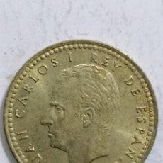 Monedas Juan Carlos I: MONEDA UNA PESETA 1975, ESTRELLA 77. Lote 236396450