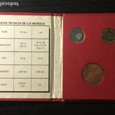 Monedas Juan Carlos I: CARTERA III EXPOSICIÓN NACIONAL DE NUMISMÁTICA - FNMT - MADRID 1987. Lote 236411375