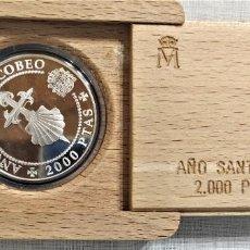 Monedas Juan Carlos I: JUAN CARLOS I. 2000 PESETAS DEL 1993.ARGENTO 0.925.. Lote 236411390