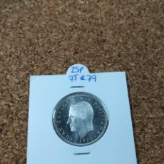 Monedas Juan Carlos I: JUAN CARLOS I, 25 PESETAS 1975*79 DE CARTUCHO. Lote 236415555