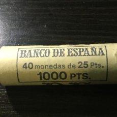 Monedas Juan Carlos I: CARTUCHO MONEDAS FRANCO - 40 MONEDAS 25 PESETAS 1957 *70. Lote 236640490