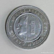 Monedas Juan Carlos I: 1 PESETA ALUMINIO JUAN CARLOS I CON MSRCO DE 1 PRS 1985.. Lote 236699720