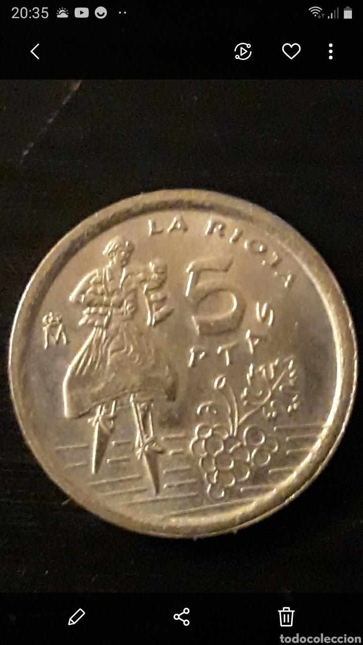 MONEDA 5 PTAS RIOJA (Numismática - España Modernas y Contemporáneas - Juan Carlos I)