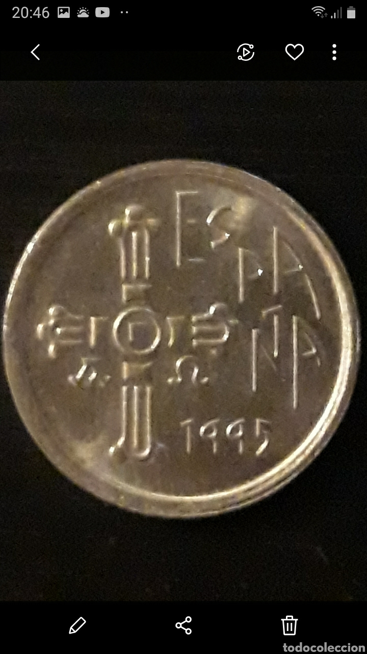 Monedas Juan Carlos I: Moneda 5 ptas ASTURIAS - Foto 2 - 236995260