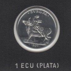 Monedas Juan Carlos I: 1989 1 ECU PLATA 6,72 GR SC. Lote 239959775