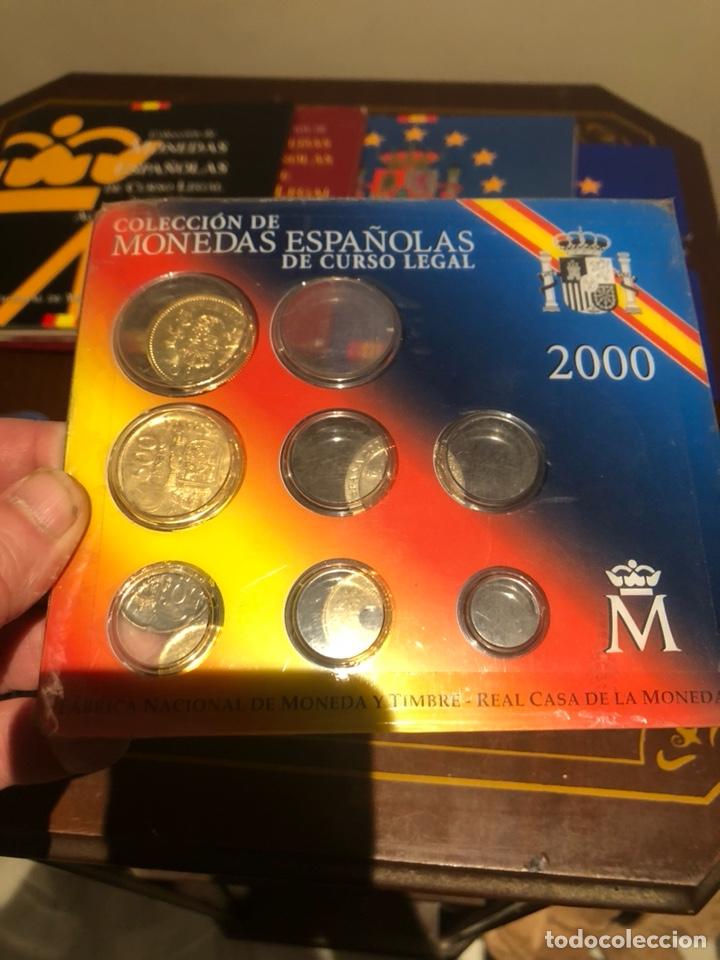 Monedas Juan Carlos I: Lote con 7 blister con monedas de Juan Carlos - Foto 4 - 241077145