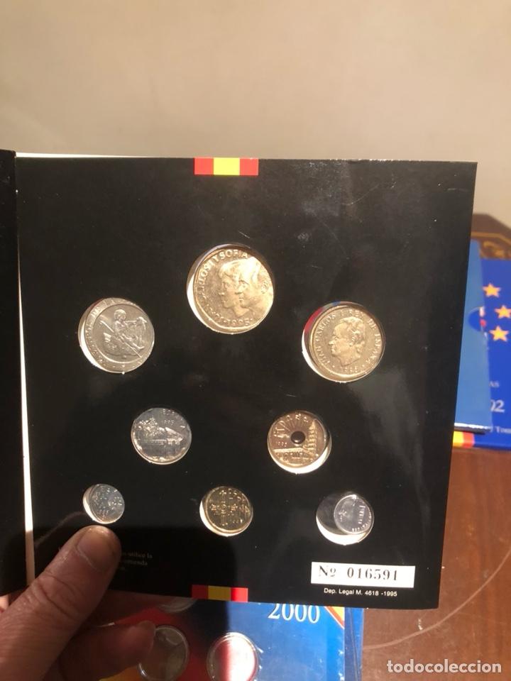 Monedas Juan Carlos I: Lote con 7 blister con monedas de Juan Carlos - Foto 5 - 241077145