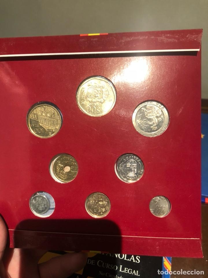 Monedas Juan Carlos I: Lote con 7 blister con monedas de Juan Carlos - Foto 7 - 241077145
