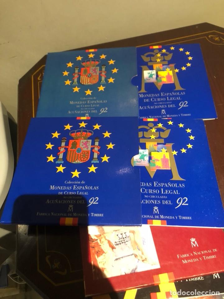 Monedas Juan Carlos I: Lote con 7 blister con monedas de Juan Carlos - Foto 8 - 241077145