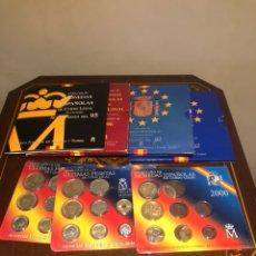 Monedas Juan Carlos I: LOTE CON 7 BLISTER CON MONEDAS DE JUAN CARLOS. Lote 241077145