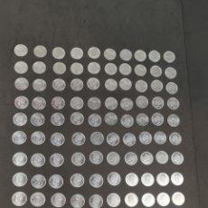 Monedas Juan Carlos I: 100 MONEDAS DE 50 CÉNTIMOS. JUAN CARLOS L. AÑO 1980. SIN USO. SIN CIRCULAR. Lote 241312010