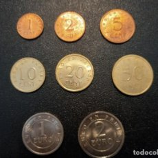 Monedas Juan Carlos I: SERIE DE EUROS EN PRUEBA. Lote 241478340