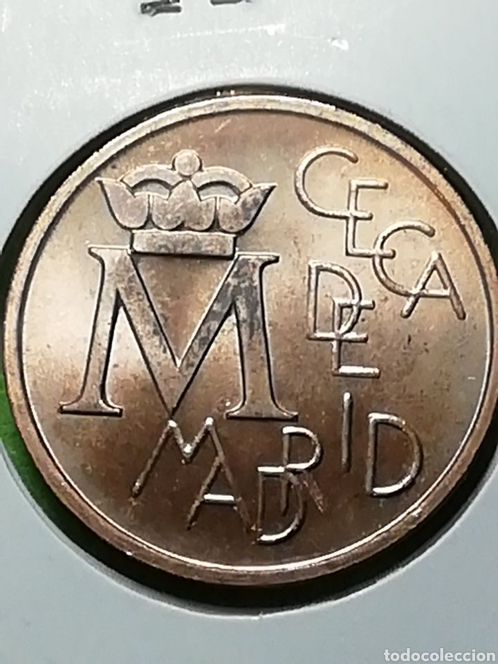 Monedas Juan Carlos I: BODAS DE PLATA. E87. CECA DE MADRID. SIN CIRCULAR. - Foto 3 - 242897050