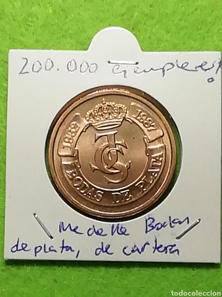 BODAS DE PLATA. E87. CECA DE MADRID. SIN CIRCULAR. (Numismática - España Modernas y Contemporáneas - Juan Carlos I)