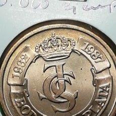 Monedas Juan Carlos I: BODAS DE PLATA. E87. CECA DE MADRID. SIN CIRCULAR.. Lote 242897050