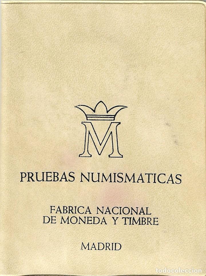 CARTERA - PRUEBAS NUMISMÁTICAS - FABRICA NACIONAL DE MONEDA Y TIMBRE (MADRID) - 1976. (Numismática - España Modernas y Contemporáneas - Juan Carlos I)