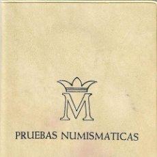 Monedas Juan Carlos I: CARTERA - PRUEBAS NUMISMÁTICAS - FABRICA NACIONAL DE MONEDA Y TIMBRE (MADRID) - 1976.. Lote 242974690