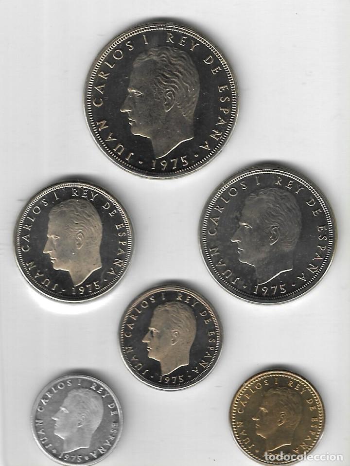 Monedas Juan Carlos I: CARTERA - PRUEBAS NUMISMÁTICAS - FABRICA NACIONAL DE MONEDA Y TIMBRE (Madrid) - 1976. - Foto 4 - 242974690