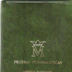 Monedas Juan Carlos I: CARTERA - PRUEBAS NUMISMÁTICAS - JUAN CARLOS I - FABRICA NACIONAL DE MONEDA Y TIMBRE (MADRID) 1977. Lote 242983490