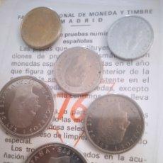 Monedas Juan Carlos I: MONEDA LOTE DE 6 ESPAÑA SIN CIRCULAR ESTADO ESPAÑOL. Lote 243557205