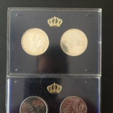 Monedas Juan Carlos I: LOTE MONEDAS DE PLATA 500 PESETAS PRUEBA. Lote 243603195