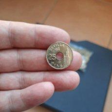 Monedas Juan Carlos I: MONEDA DE 25 PESETAS DE JUAN CARLOS I.DEL AÑO 1992(GIRALDA).S/C. SACADA DE BOLSA!. Lote 243624285