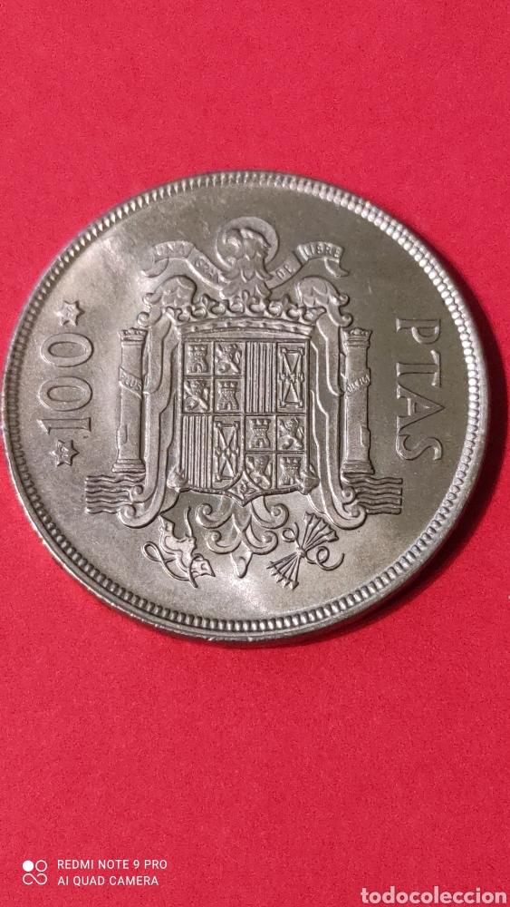MONEDA 100 PESETAS JUAN CARLOS I REY DE ESPAÑA. 1975 (76). AGUILA. (Numismática - España Modernas y Contemporáneas - Juan Carlos I)