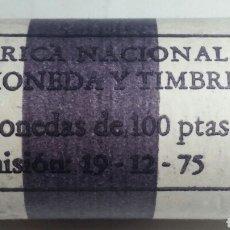 Monedas Juan Carlos I: CARTUCHO FNMT 25 MONEDAS 100 PESETAS MUNDIAL 82 ESTRELLA 80 SC. Lote 244778400