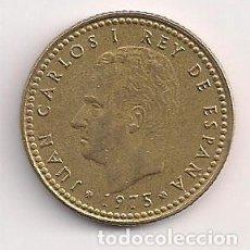 Monedas Juan Carlos I: ESPAÑA - 1 PESETA 1975 *78 - PUNTO EN LA Ñ. Lote 244896265
