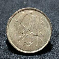 Monedas Juan Carlos I: MONEDA DE 5 PESETAS DEL 2001 - REY JUAN CARLOS 1º. Lote 245053365