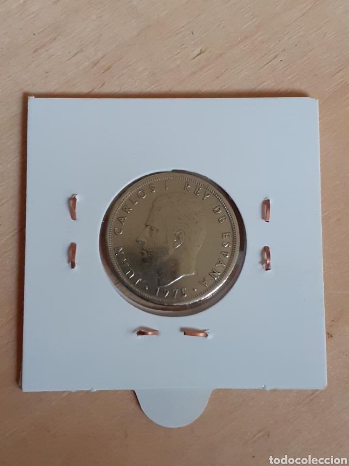 Monedas Juan Carlos I: Moneda de 5 pesetas año 1975 * 80 - Foto 2 - 245057390
