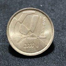 Monedas Juan Carlos I: MONEDA DE 5 PESETAS DEL AÑO 2000 - REY JUAN CARLOS 1º. Lote 245058245