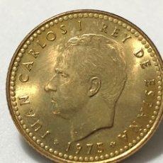 Monedas Juan Carlos I: ESPECTACULAR MONEDA DE 1 PESETA DE 1975 *80 SIN CIRCULAR. Lote 245081775