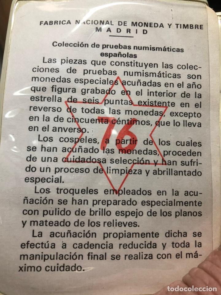 Monedas Juan Carlos I: Pruebas Numismaticas del 76 - Foto 6 - 245299185