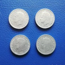 Monedas Juan Carlos I: 5 PESETAS 1975. ESTRELLA 76. ESPAÑA. 4 MONEDAS. Lote 246102130
