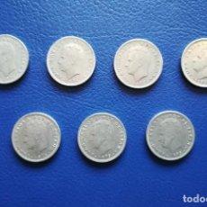 Monedas Juan Carlos I: 5 PESETAS 1975. ESTRELLA 80. ESPAÑA. 7 MONEDAS. Lote 246102660