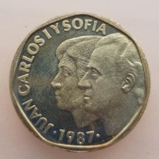 Monedas Juan Carlos I: JUAN CARLOS I 500 PESETAS 1987 SC O PROOF. Lote 246481835