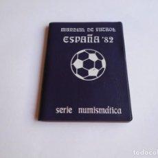 Monedas Juan Carlos I: NUMISMATICA MUNDIAL DE FUTBOL ESPAÑA 82 AÑO 1980. Lote 246539120