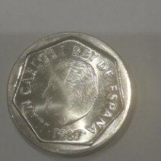 Monedas Juan Carlos I: MONEDA 200 PESETAS 1987. JUAN CARLOS I. SIN CIRCULAR.. Lote 246586875